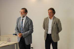 Il dottor Guaita ed il sindaco di Abbiategrasso, Pierluigi Arrara.