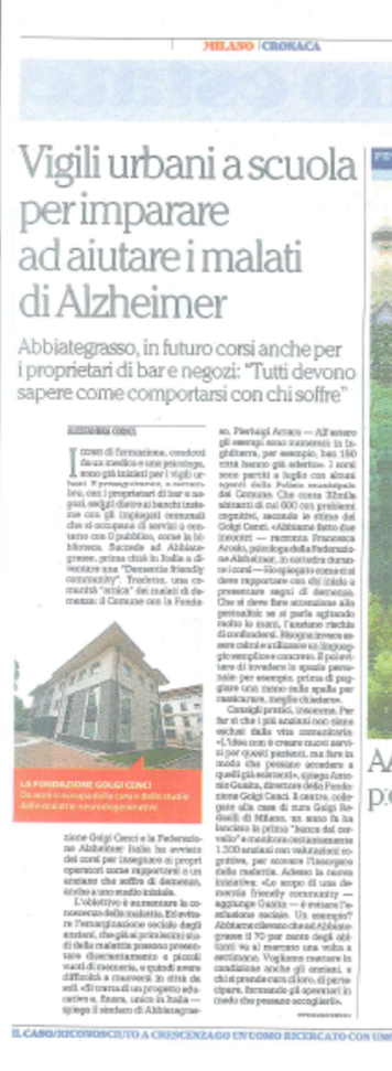 articolo Repubblica DFC Abbiategrasso